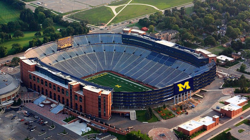 Michigan stadium seating capacity reduced by 2k mgoblog for House plans designed for future expansion