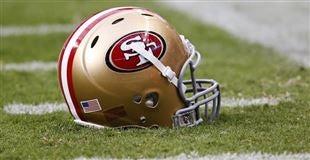 San Francisco 49ers Nick Easton GAME Jerseys