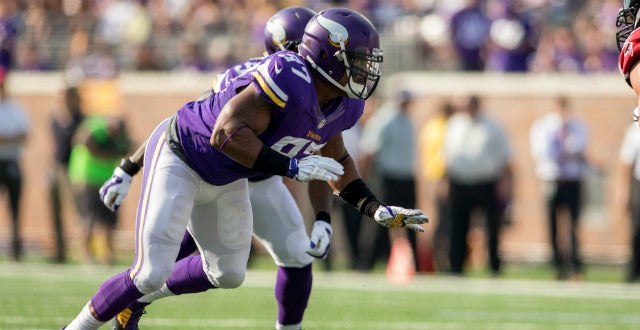 Vikings top 10 cap hits in 2015 no 3 everson griffen