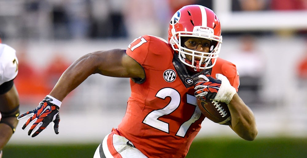 "Georgia Football: Nick Chubb, ""…I just go in and score and get off the field"""