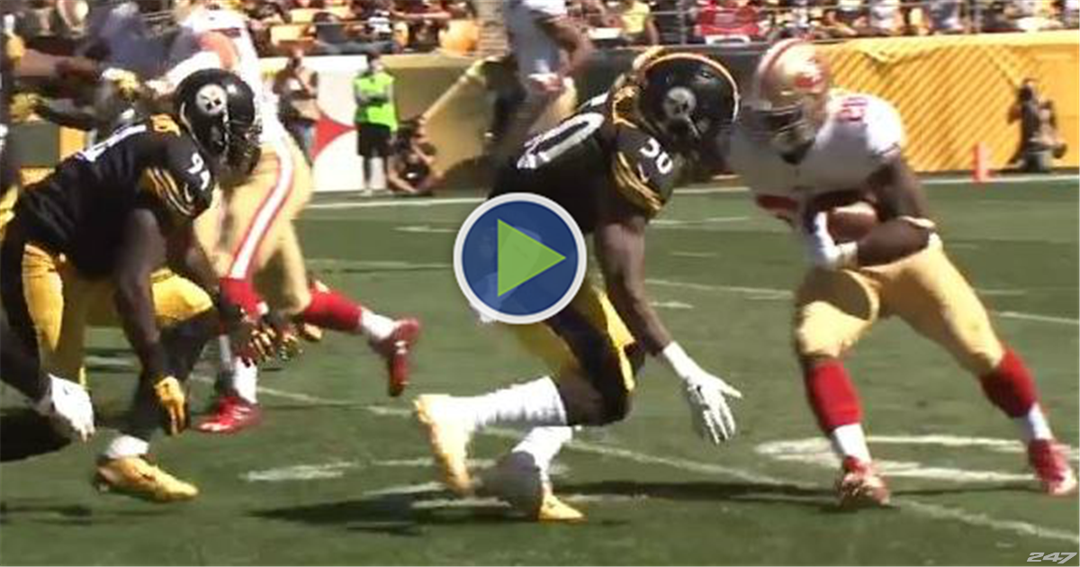 WATCH: Steelers' Ryan Shazier miked for Carlos Hyde matchup