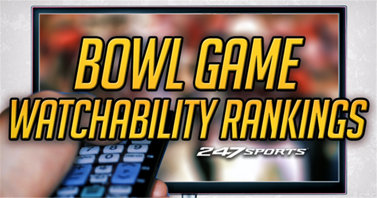 Ranking all 40 bowl games by watchability
