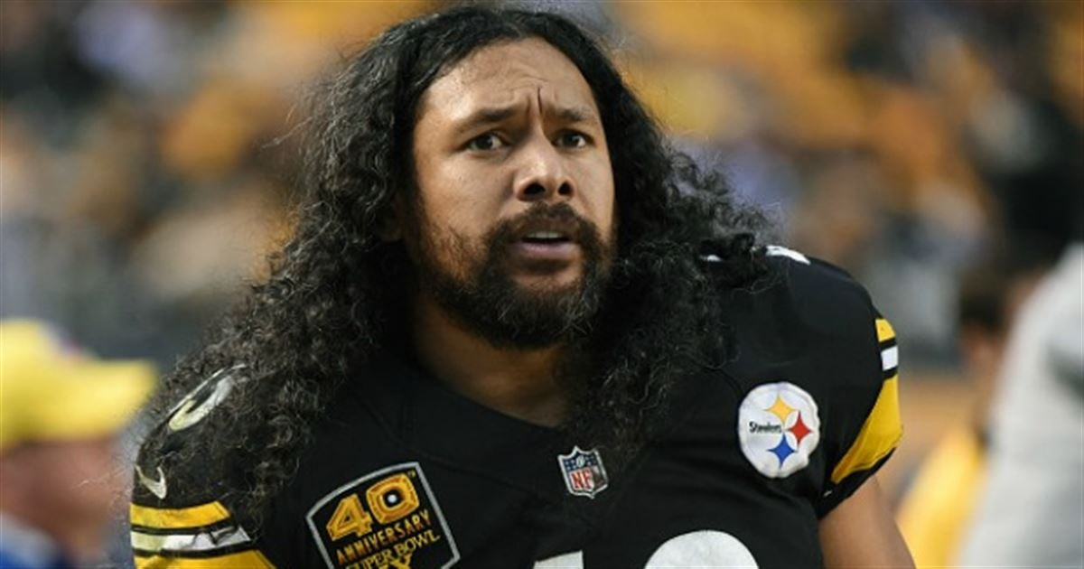 Troy polamalu short hair