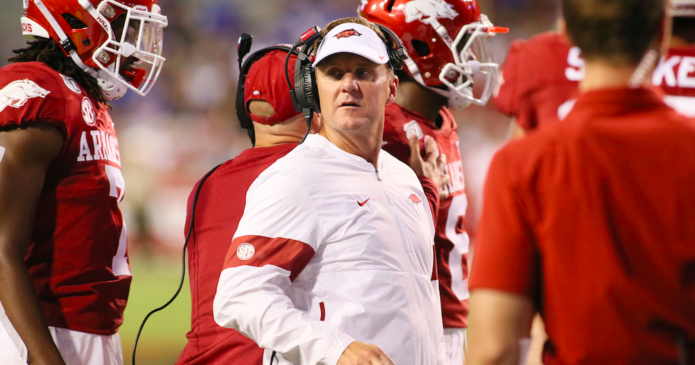 What Arkansas coach Chad Morris said about Alabama, Mac Jones