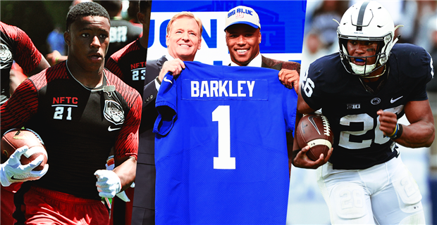 Remembering the 2018 NFL Draft first-round picks as recruits