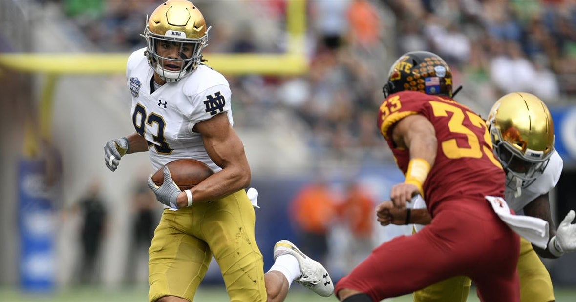 Bench Numbers In For A Few Notre Dame Players At The NFL Combine