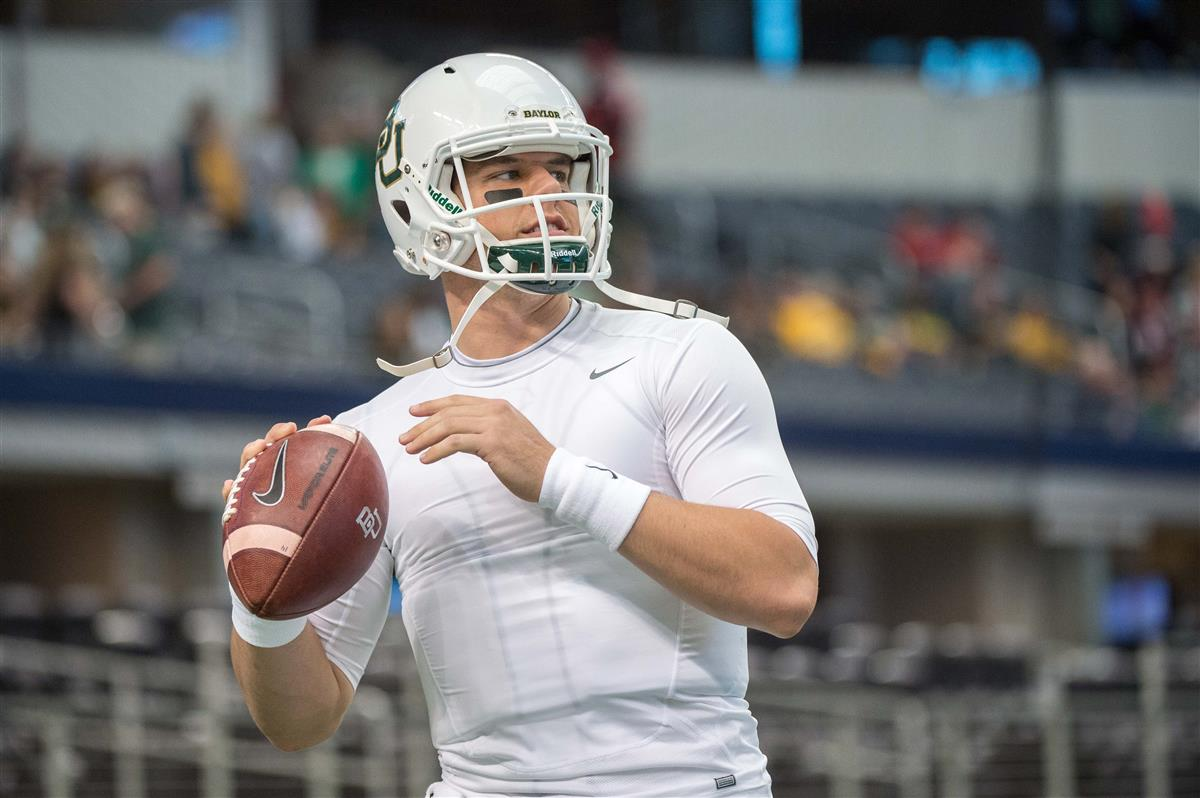 Dallas Cowboys checking out QB Bryce Petty at Baylor's Pro Day