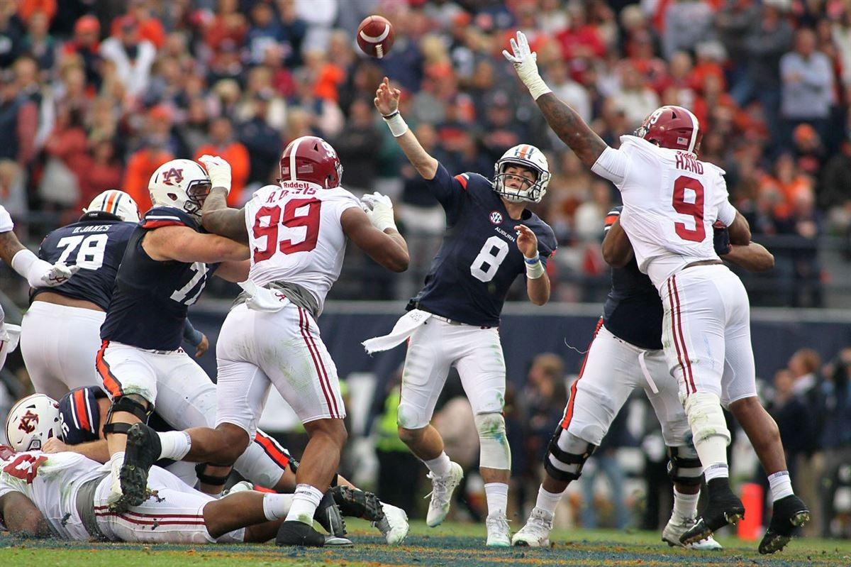 The Last Team To Beat Alabama Auburn Doesn T Fear The Tide