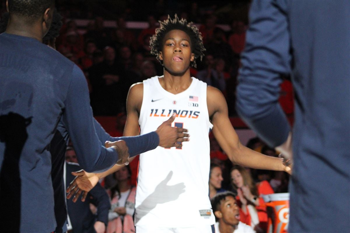 Ayo Dosunmu A Projected First Rounder In Espn 2020 Mock Draft