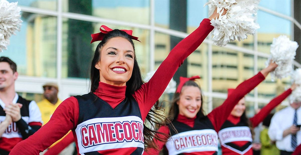Image result for university of south carolina cheerleaders