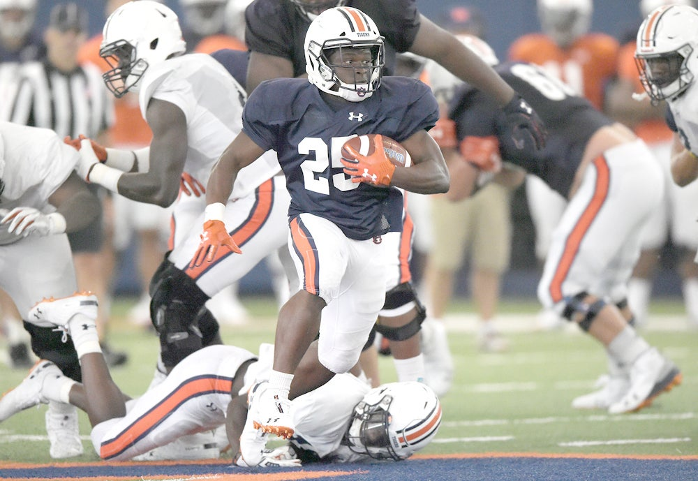 Auburn Freshman Shaun Shivers Running With A Purpose