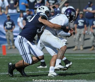 official photos 48b41 a5a70 Bronson Kaufusi, New York, Strong-Side Defensive End