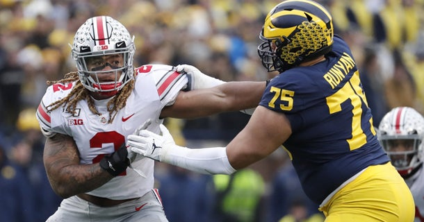 Chase Young drops to new team in updated NFL mock draft