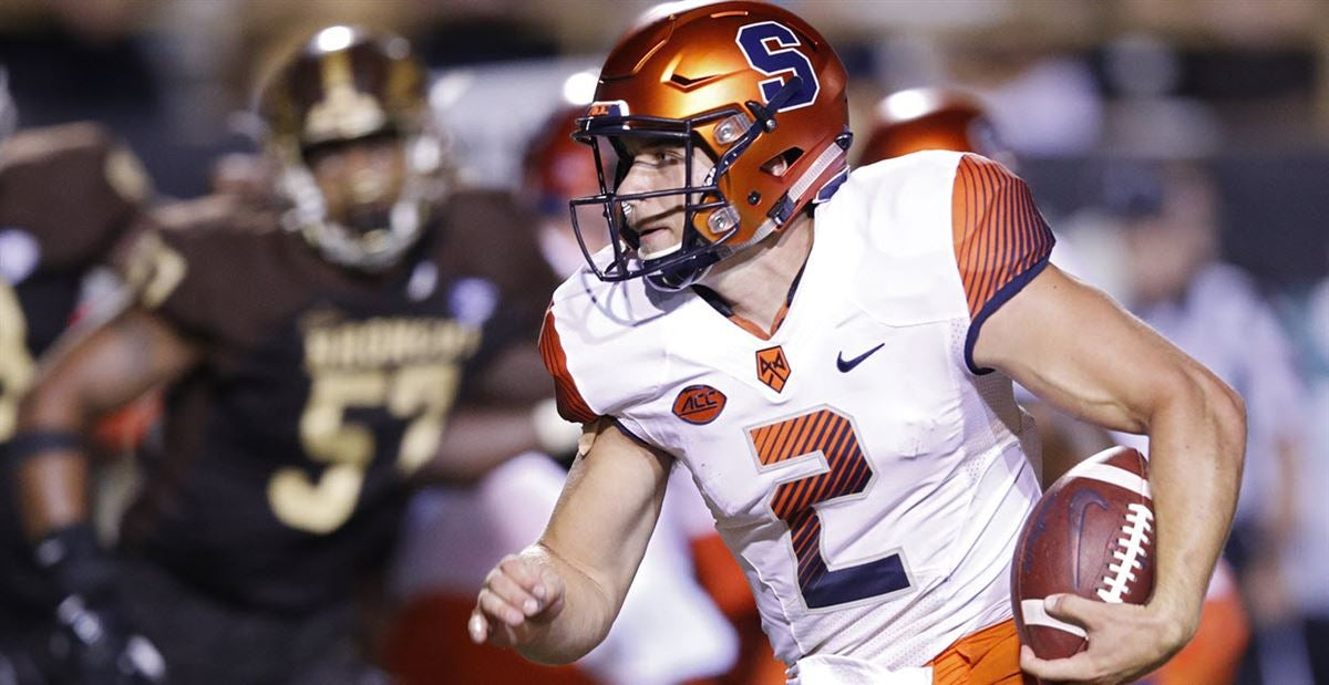 online store 9cdc1 8d42a Eric Dungey, Syracuse, Dual-Threat Quarterback
