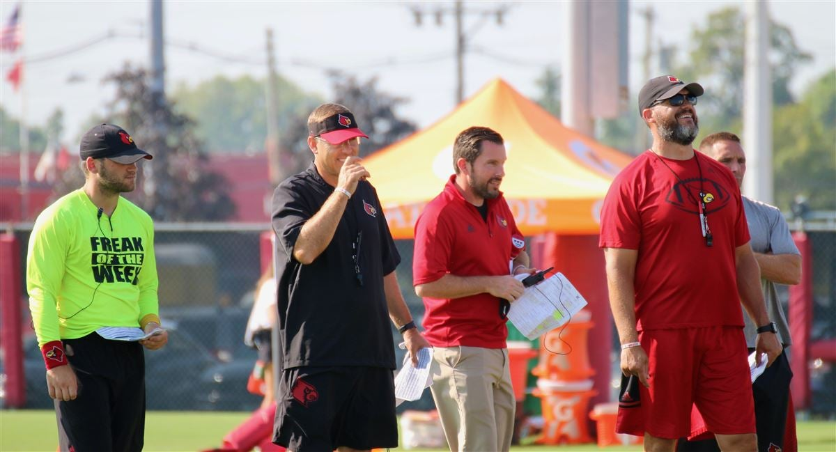 Louisville football a whole lot better in second scrimmage