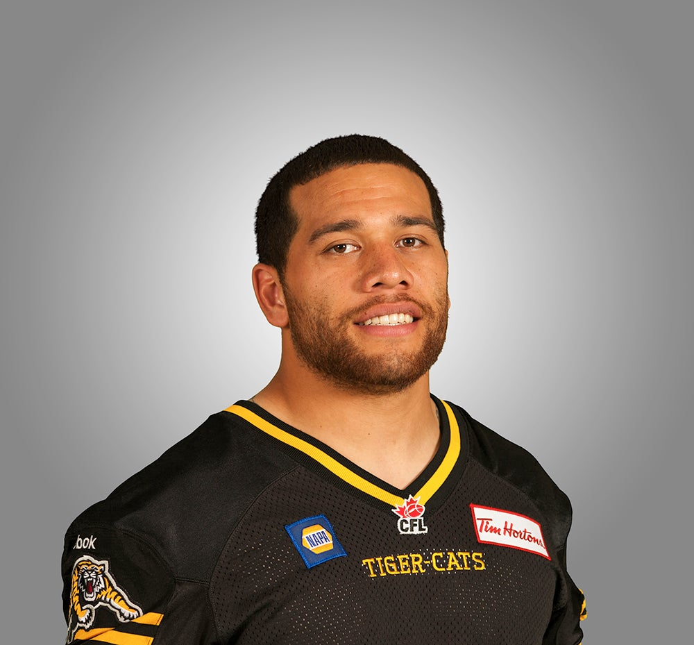 Watch Jeremiah Masoli throw TD pass through uprights in the CFL