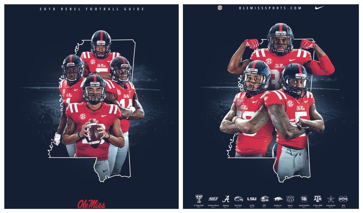 cheap for discount b5c61 287e0 Ole Miss Rolls Out 2018 Media Guide