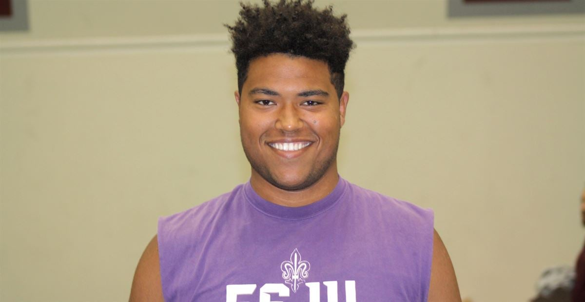 Latest with '20 OT Tobias Braun and Power 5 visits