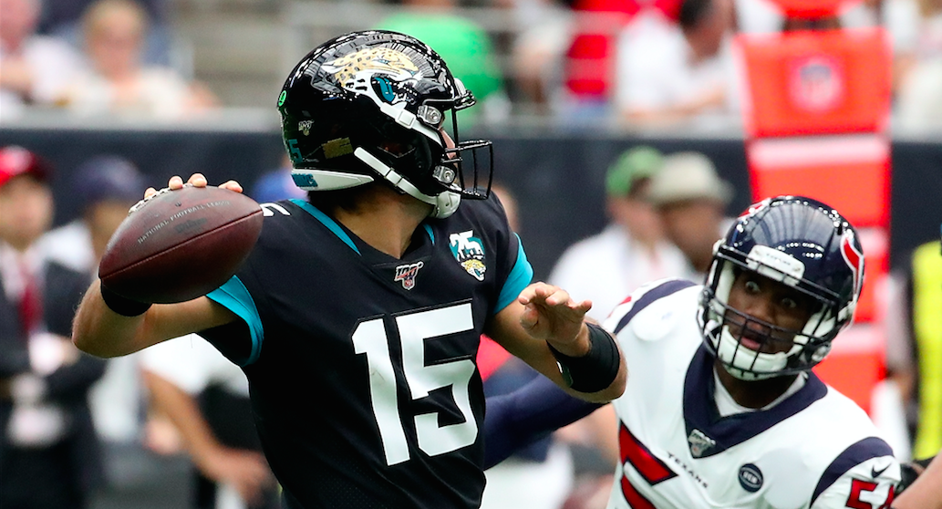 Gardner Minshew's first NFL start ends in dramatic fashion