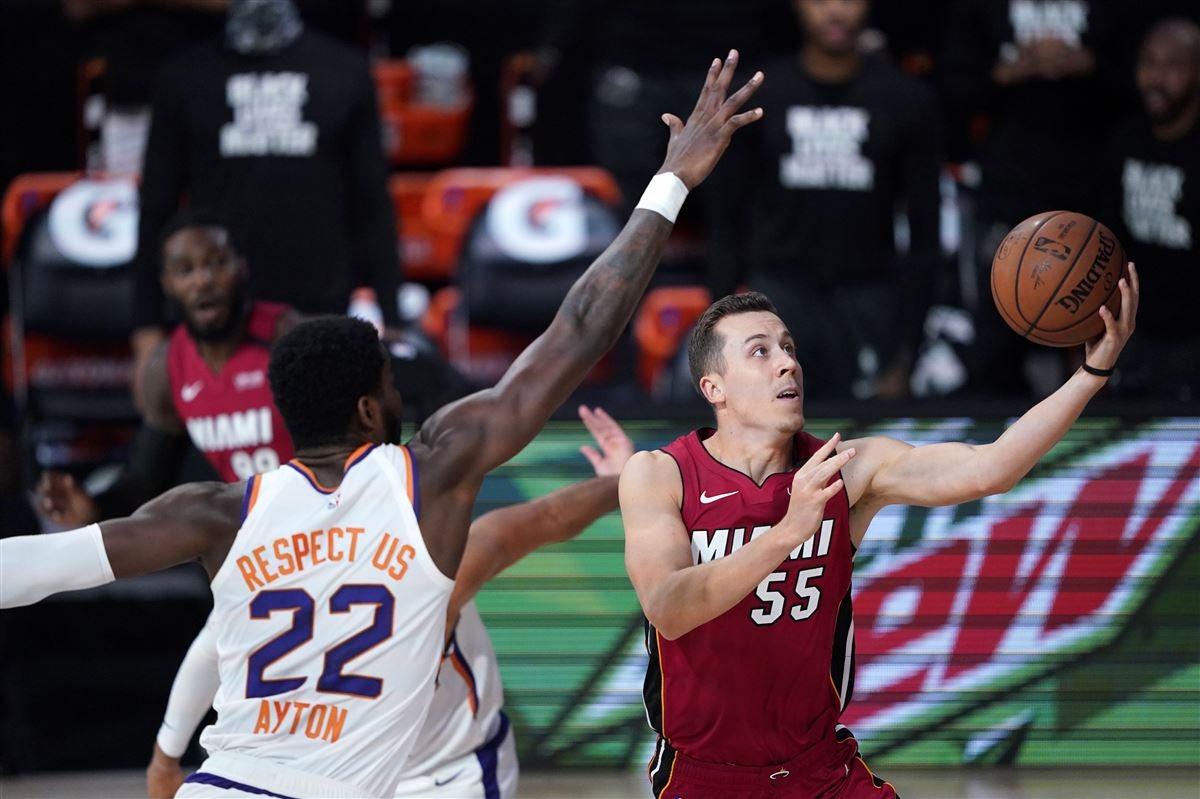 Watch Duncan Robinson Ties Miami Heat Playoff Record