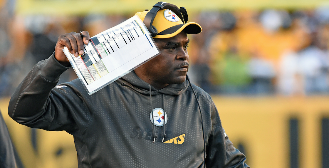 brand new 7e17d 28eeb Steelers not renewing RB coach James Saxon's contract