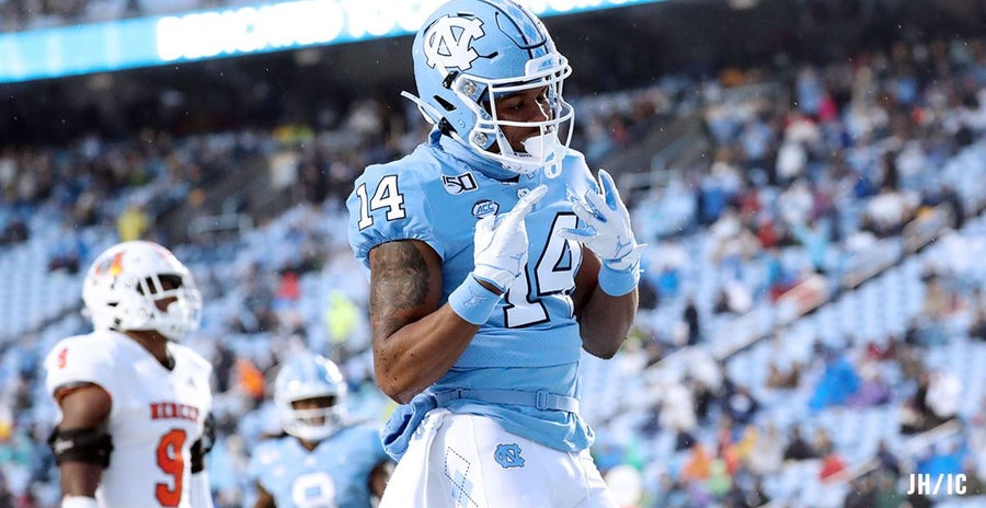 UNC's receivers are reminding Mack Brown of the best receiving season ever