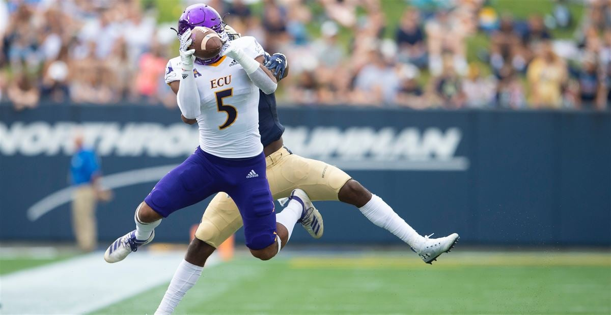 ECU Depth Chart for Week 4 against William & Mary