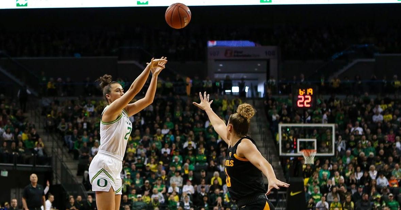ESPN pegs Oregon women's basketball as top 10 team this year