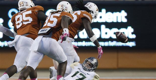 Texas Lost To Kansas, That's Probably It For Charlie Strong