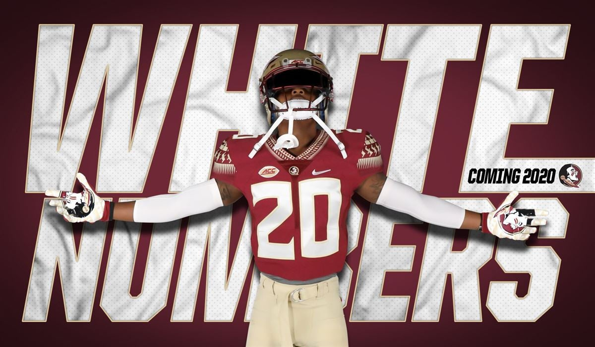 Return of the white numbers and more uniform news from FSU