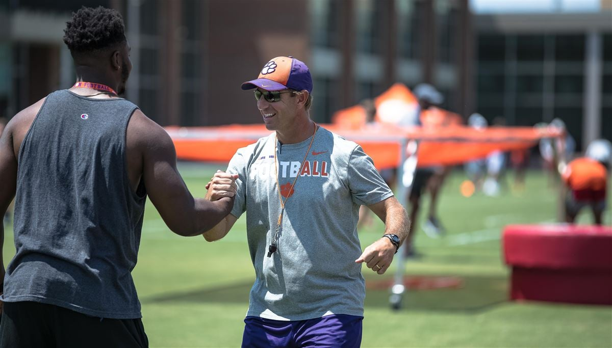 Gallery #3: The players & coaches gallery from Dabo Swinney Camp