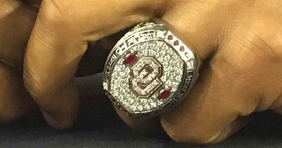 Sooners bring the bling to Big 12 Media Days