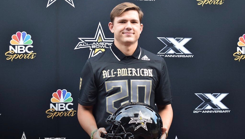 Getting All-American Bowl jersey 'surreal moment' for Albright