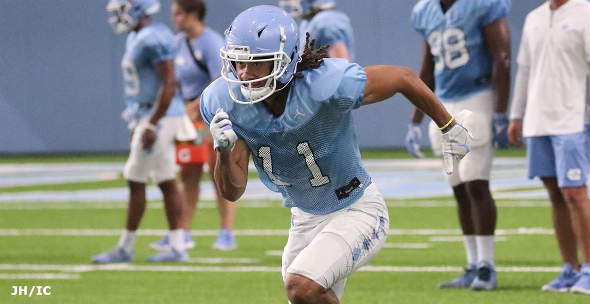 UNC Wide Receiver Roscoe Johnson Plans to Transfer