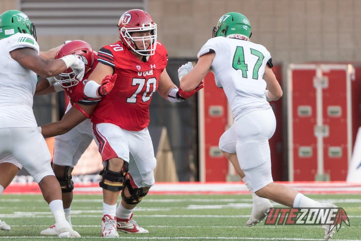 That Utah Football Offensive Tackle Life Q & A