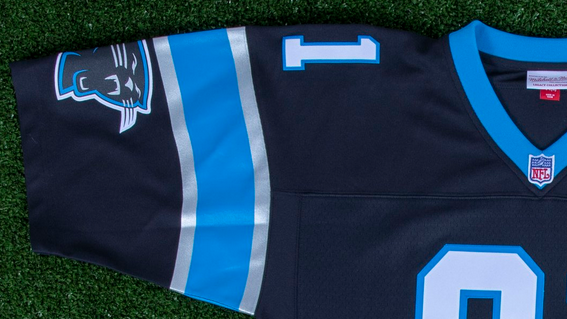 new product fa1a2 a12d4 Mitchell & Ness releases classic Sam Mills, Kevin Greene jerseys