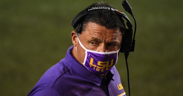 Everything Ed Orgeron said about LSU vs. Texas A&M