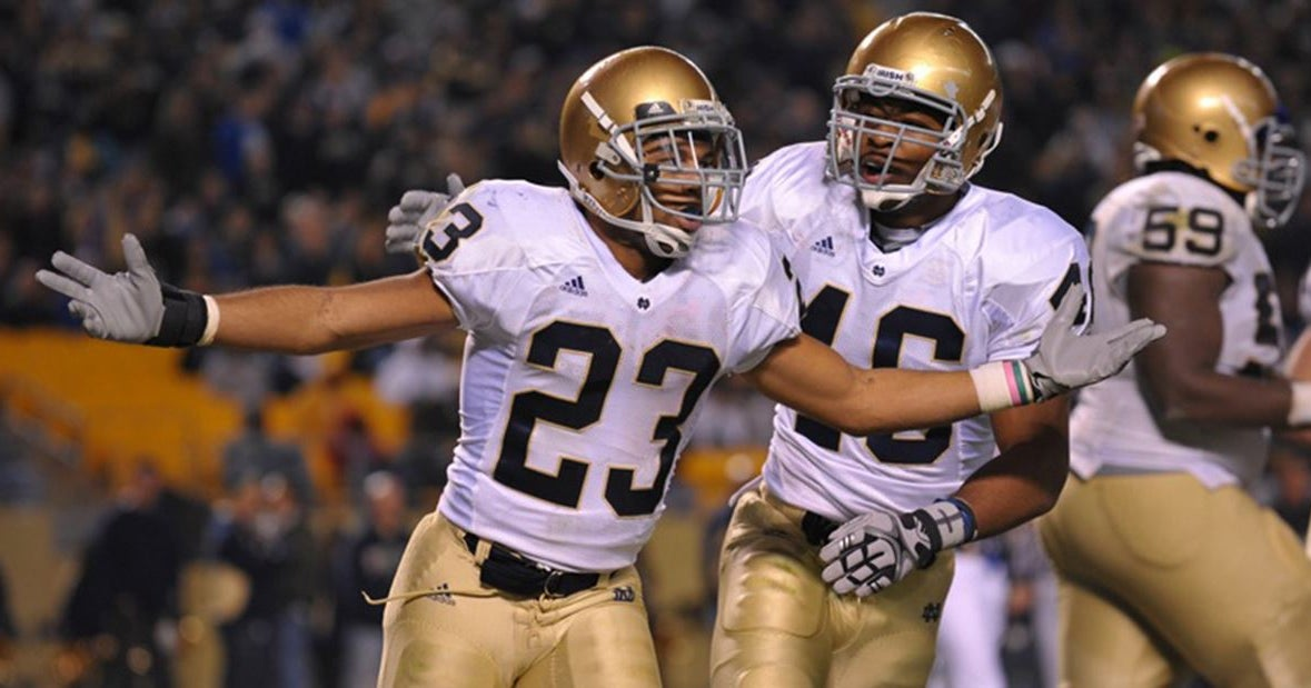 Golden Tate comments on viral touchdown at Notre Dame