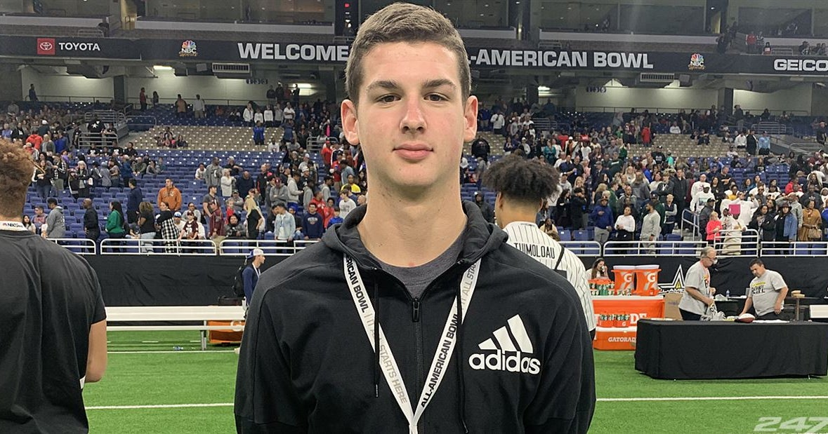 Five-star 2021 QB Sam Huard talks All-American Bowl selection
