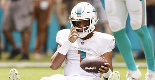 Tua Tagovailoa injury update: Miami Dolphins coach Brian Flores says QB is 'getting a little better every day'