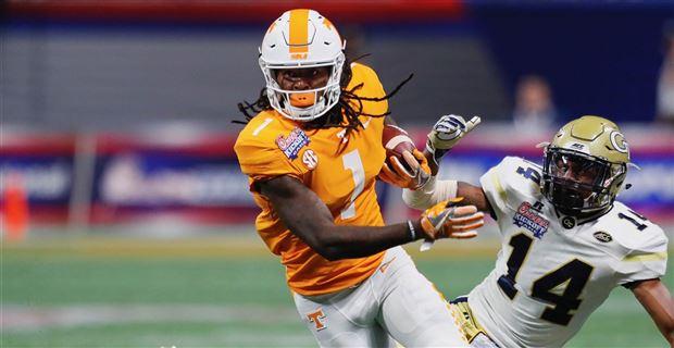 Tennessee sophomore wide receiver Marquez Callaway (Photo  Todd Kirkland dd45146c2
