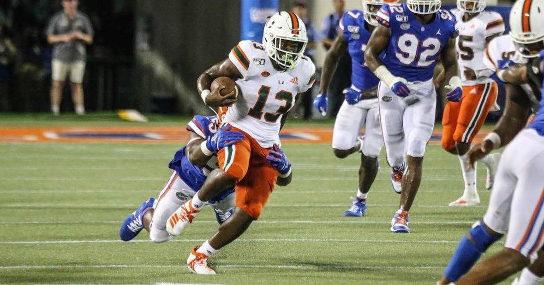 PFF Grades: Miami's top ten players vs. Florida