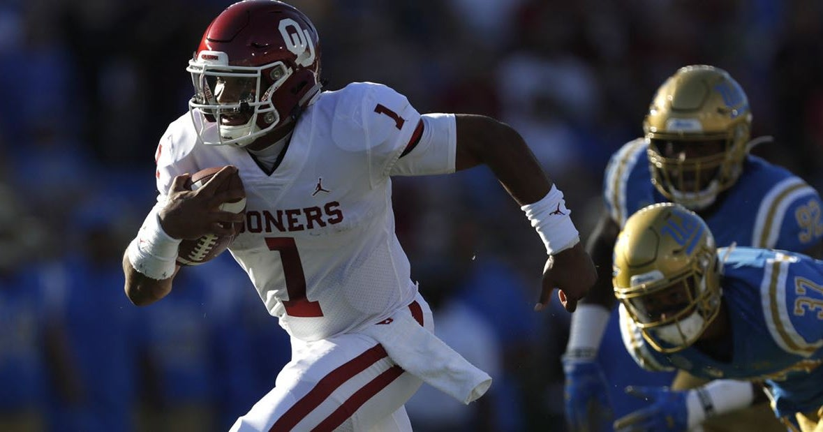 Hurts compares favorably to recent Oklahoma Heisman winners