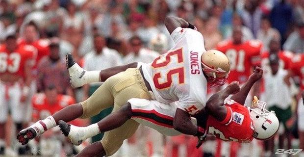 best website 2418b 63225 FSU to retire Marvin Jones' jersey