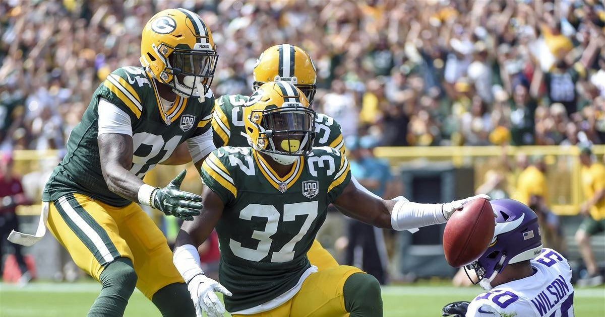 Packers release unofficial depth chart vs. Vikings