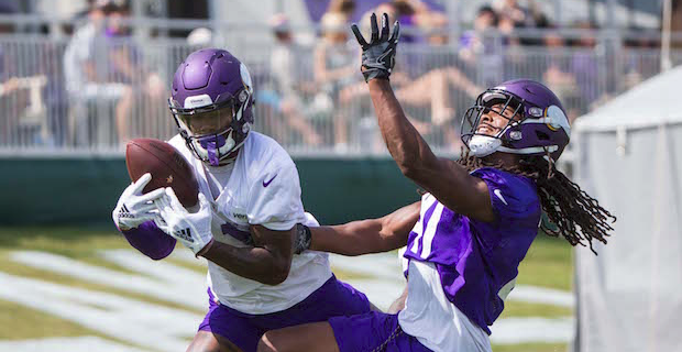 Camp notebook: Vikings' deep passing game a work in progress