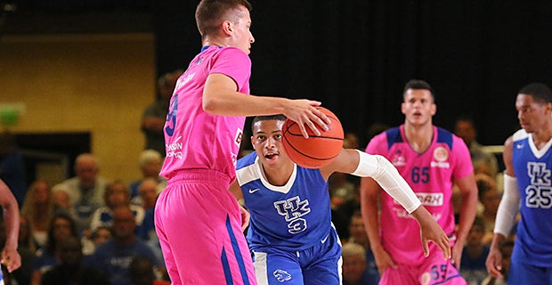 WATCH || Keldon Johnson declares himself UK's top trash talker