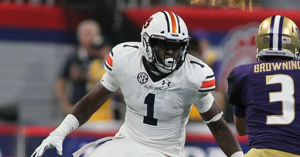 Auburn transfer, All-SEC edge rusher commits to Vols