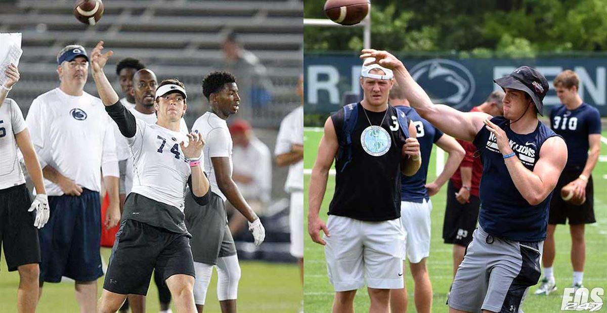 Penn State player development photos: Then & Now