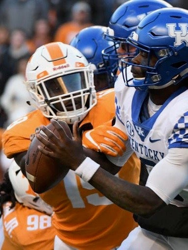 Darrell Taylor Named Sec Defensive Player Of The Week